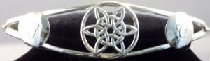 Celtic Star Knot Cuff Bracelet