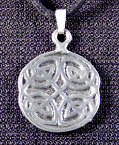 Celtic Four Elements Knot Necklace