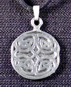 Celtic Four Elements Knot Necklace