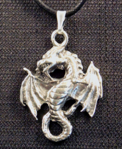 Winged Dragon Necklace