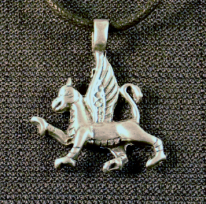 Celtic Gryphon Necklace