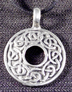 Celtic Circular Infinity Knot Necklace