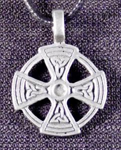 Circular Celtic Cross Necklace