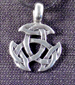 Celtic Trinity Knot Tribal Necklace